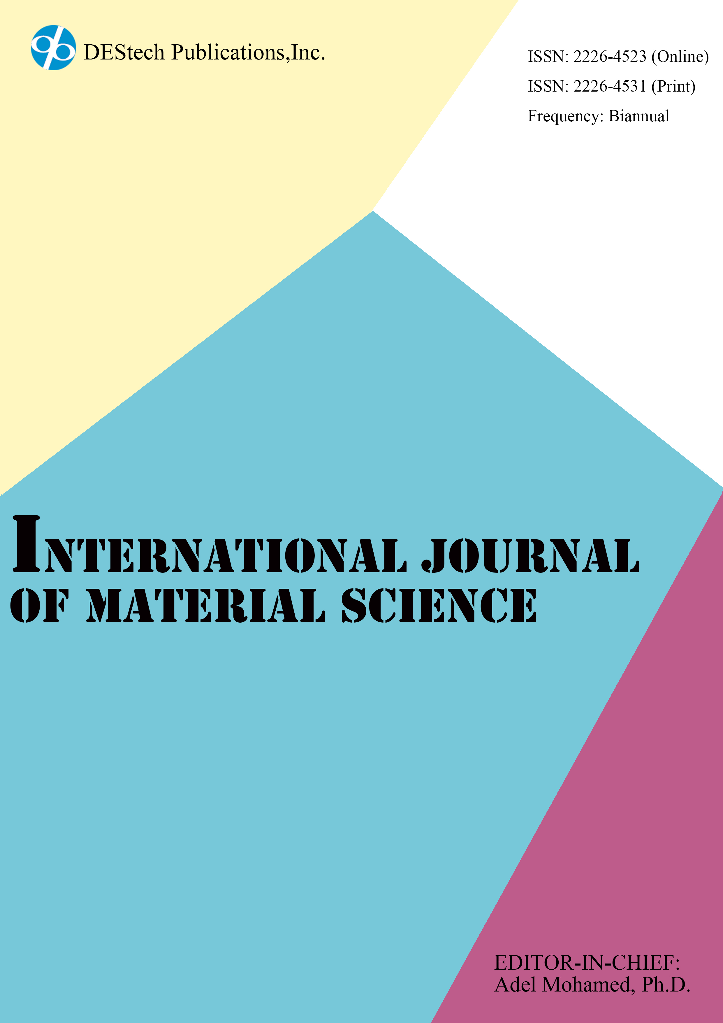 International Journal Of Material Science Destech Publishing