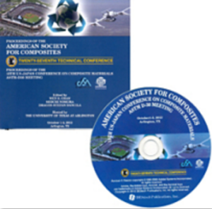Proceedings of the American Society for Composites 2012-Twenty-Seventh Technical Conference