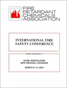 International Fire Safety Conference  2001 600x800 scan
