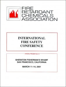 International Fire Safety Conference  2001 scan600x800