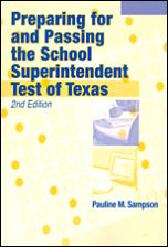 Preparing for Superintendent Exam in Texas 150x225 border