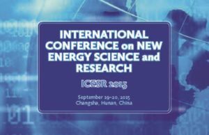 New Energy Science & Research Proceedings