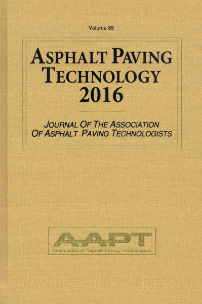 Asphalt Paving Technology 2016 Destech Publishing Inc