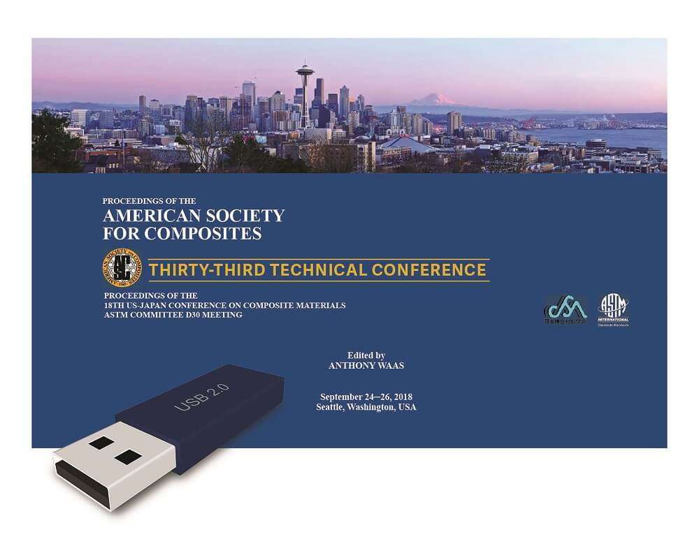 Proceedings of the American Society for Composites—Thirty-Third Technical  Conference on Composite Materials   DEStech Publishing Inc